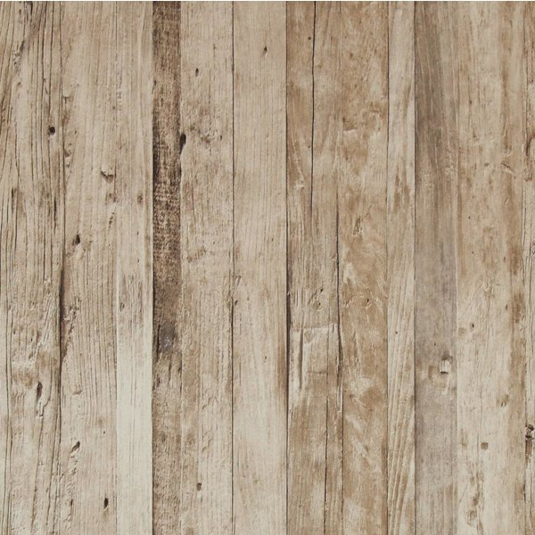 Hout behang van steigerhout tot sloophout - De Behangwinkelier