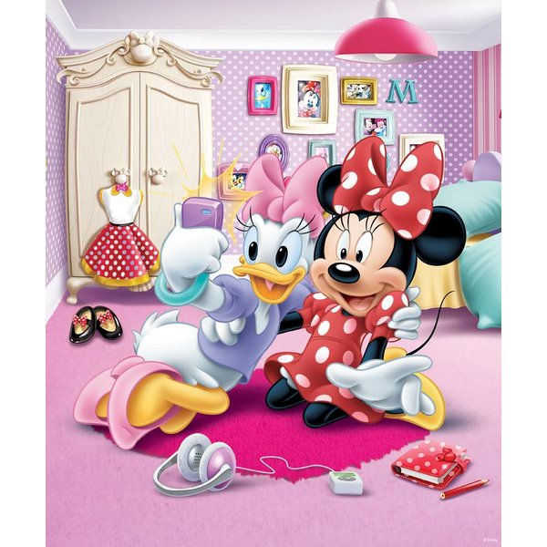 Walltastic Disney Minnie Mouse fotobehang