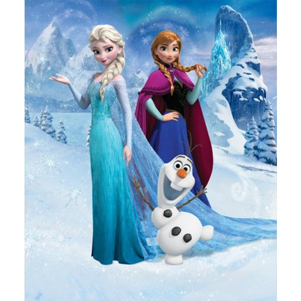 Dutch Wallcoverings Walltastic Disney Frozen fotobehang
