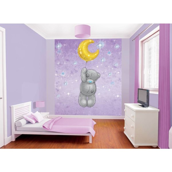 Dutch Wallcoverings Walltastic Tatty Teddy fotobehang