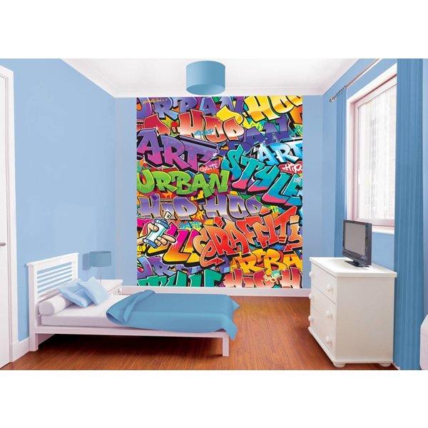 Dutch Wallcoverings Walltastic Graffiti fotobehang
