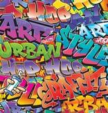 Dutch Wallcoverings Walltastic Graffiti 8 delig
