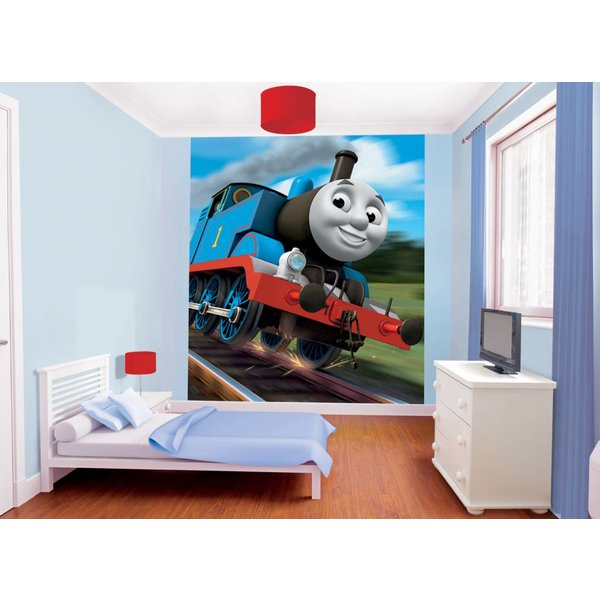 Dutch Wallcoverings Walltastic Thomas the Tank 8 delig