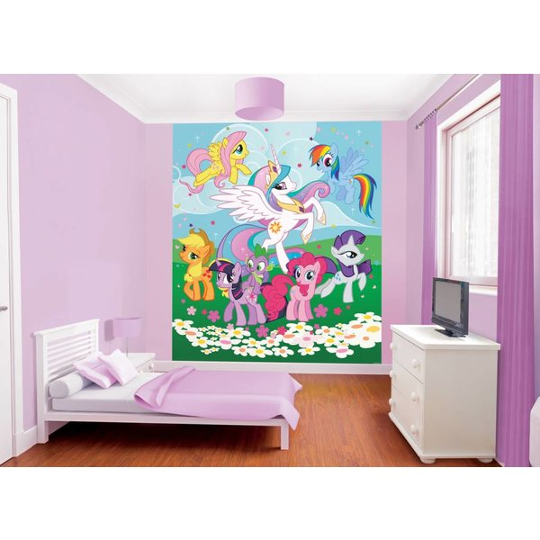 Dutch Wallcoverings Walltastic My Little Pony fotobehang