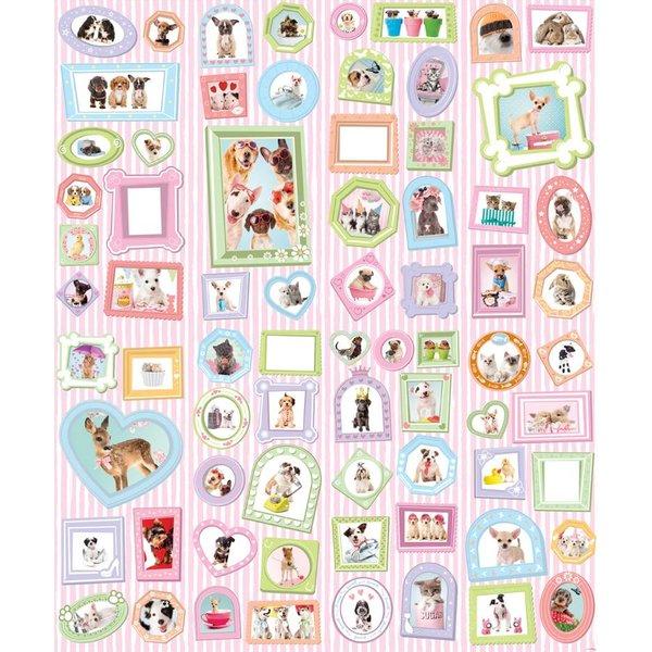 Dutch Wallcoverings Walltastic Adorable Pets 8 delig
