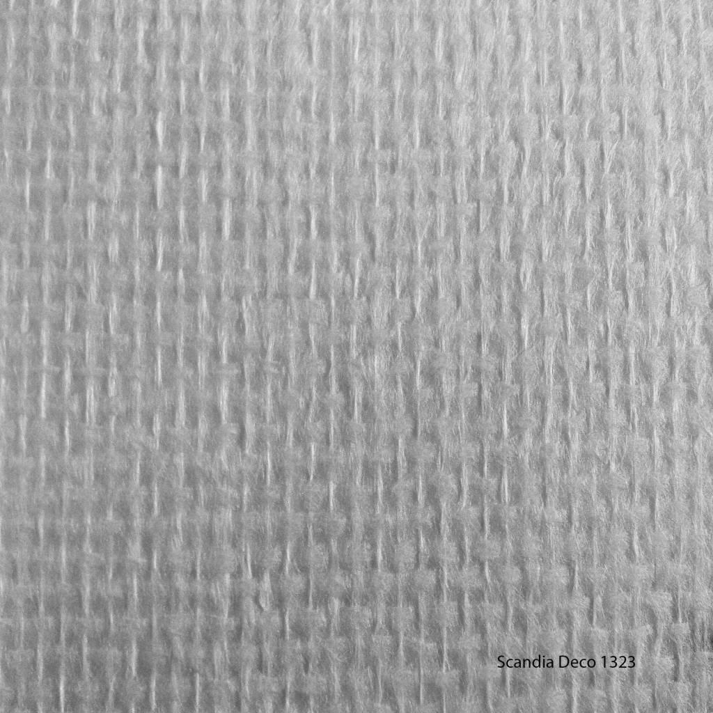 Scandia deco 1323 glasvezelbehang ruit de for Behang per m2