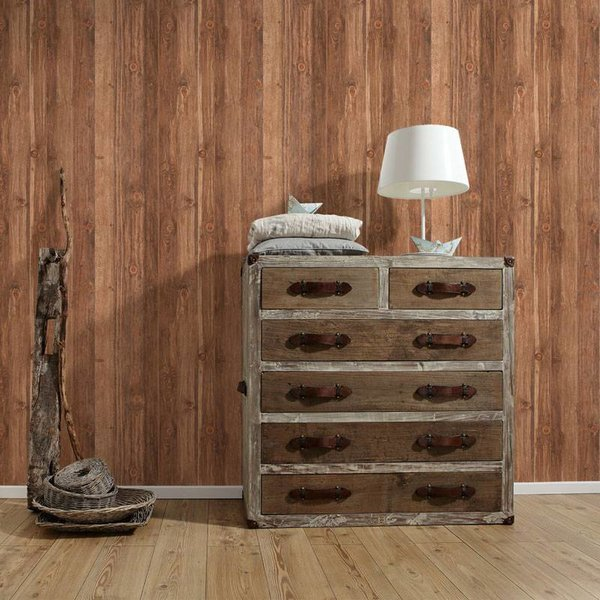 Hout Behang Wood´n Stone 908629