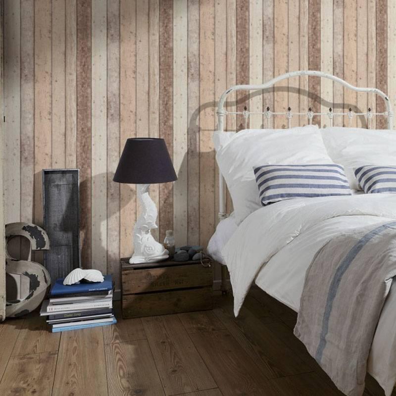 as creation sloophout behang new england 895110 - de behangwinkelier, Deco ideeën