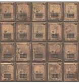 Dutch Wallcoverings Reclaimed vintage kluisjes koper