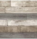 Dutch Wallcoverings Reclaimed verweerd hout beige