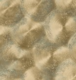 Dutch Wallcoverings Reclaimed rustiek metaal behang goud