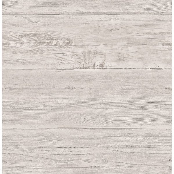 Dutch Wallcoverings Reclaimed houten planken behang beige