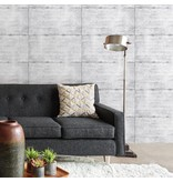 Dutch Wallcoverings Reclaimed beton behang grijs taupe