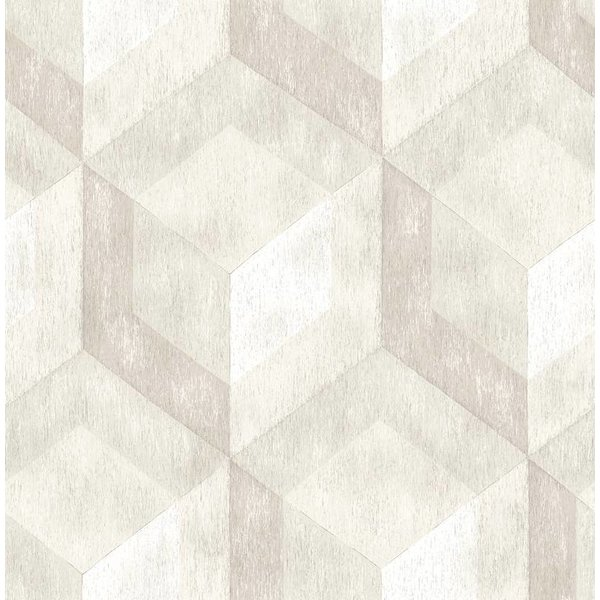 Dutch Wallcoverings Reclaimed honingraat beige