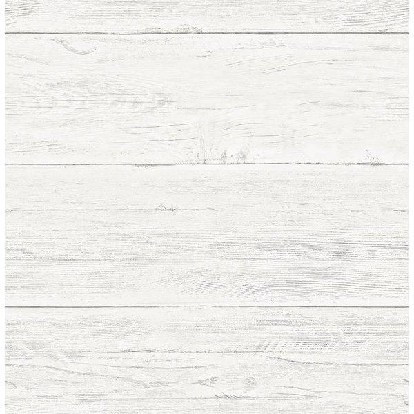 Dutch Wallcoverings Reclaimed houten planken behang grijs
