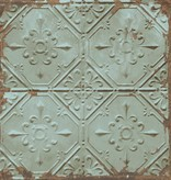 Dutch Wallcoverings Reclaimed vintage tegel behang groen grijs
