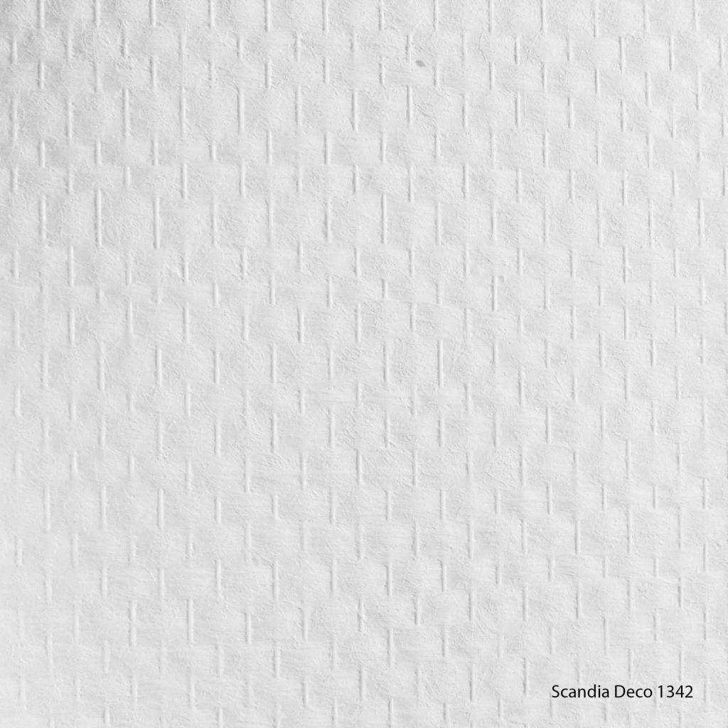 Scandia Deco 1342 u2013 Glasvezelbehang VB u2013 Ruit Standaard - 1m2 - De ...