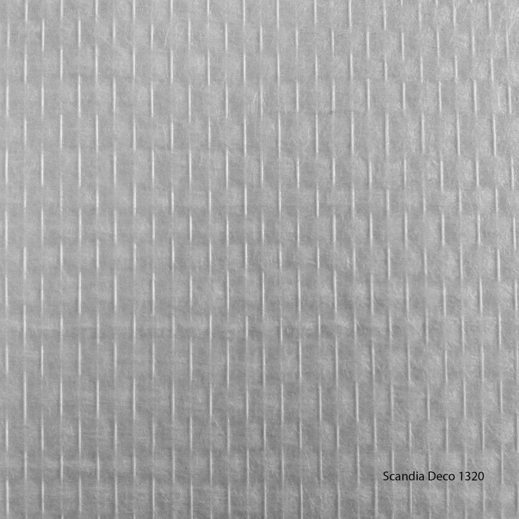 Glasweefselbehang deco 1320 niet voorgeschilderd for Glasvezelbehang