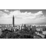 Dutch Wallcoverings City Love Taipei z/w 9-d