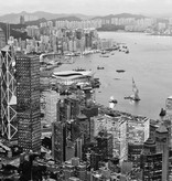 Dutch Wallcoverings City Love Hong Kong z/w 9-d