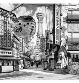 Dutch Wallcoverings City Love Yokohama z/w 6-d