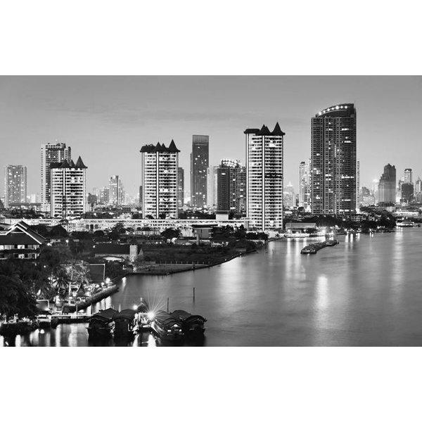 Dutch Wallcoverings City Love Bangkok z/w 9-d