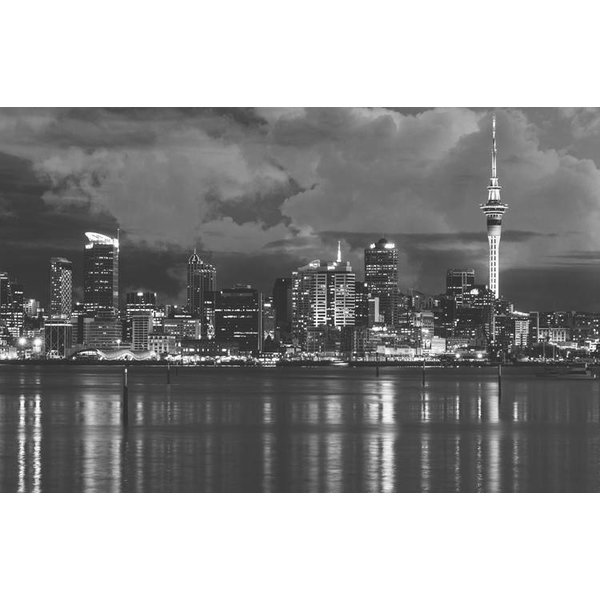 Dutch Wallcoverings City Love Auckland z/w 9-d