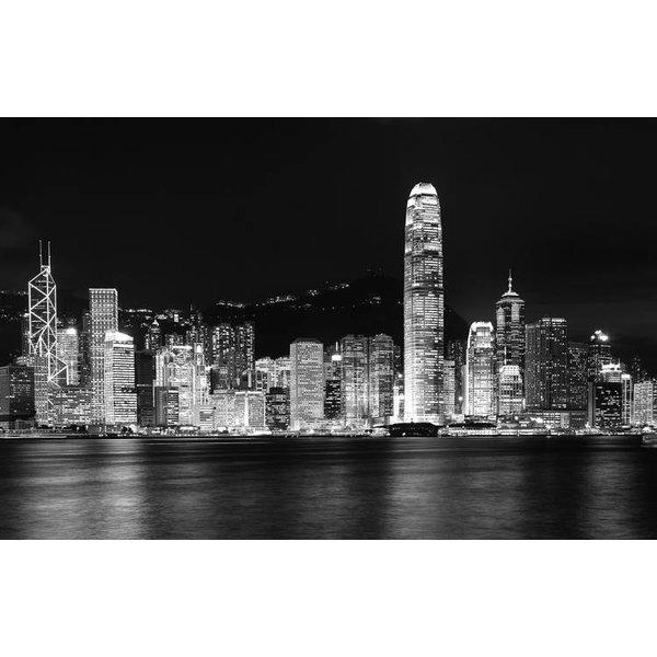 Dutch Wallcoverings City Love Hong Kong z/w 9-d
