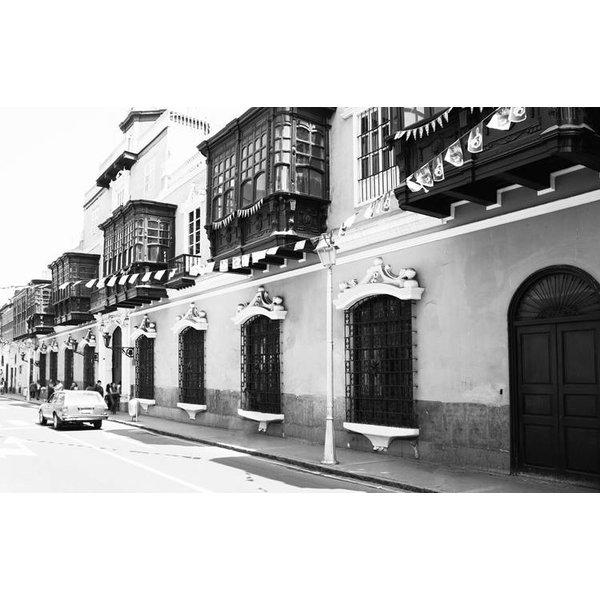 Dutch Wallcoverings City Love Lima z/w 9-d