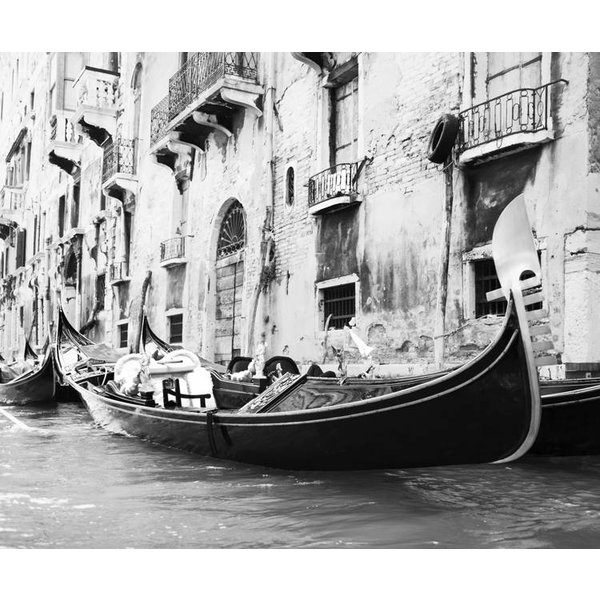 Dutch Wallcoverings City Love Venice z/w 7-d