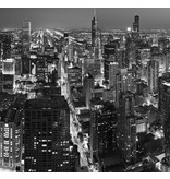 Dutch Wallcoverings City Love Chicago z/w 6-d