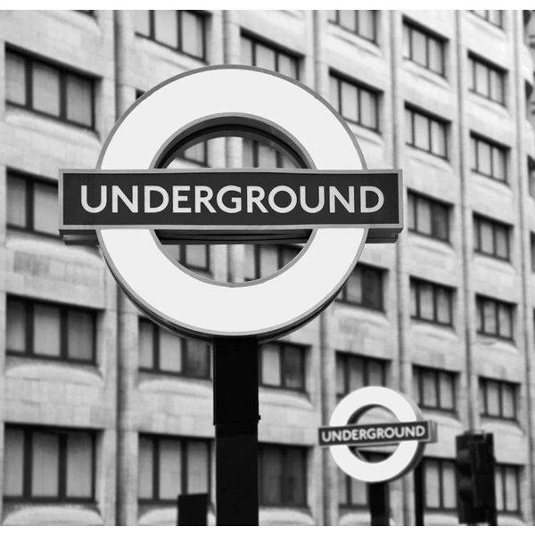 Dutch Wallcoverings City Love London z/w 6-d
