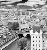 Dutch Wallcoverings City Love Paris z/w 9-d