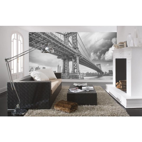 Dutch Wallcoverings City Love New York z/w 9-d