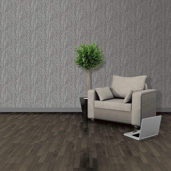 Dutch Wallcoverings Soft & Natural Dessin grijs