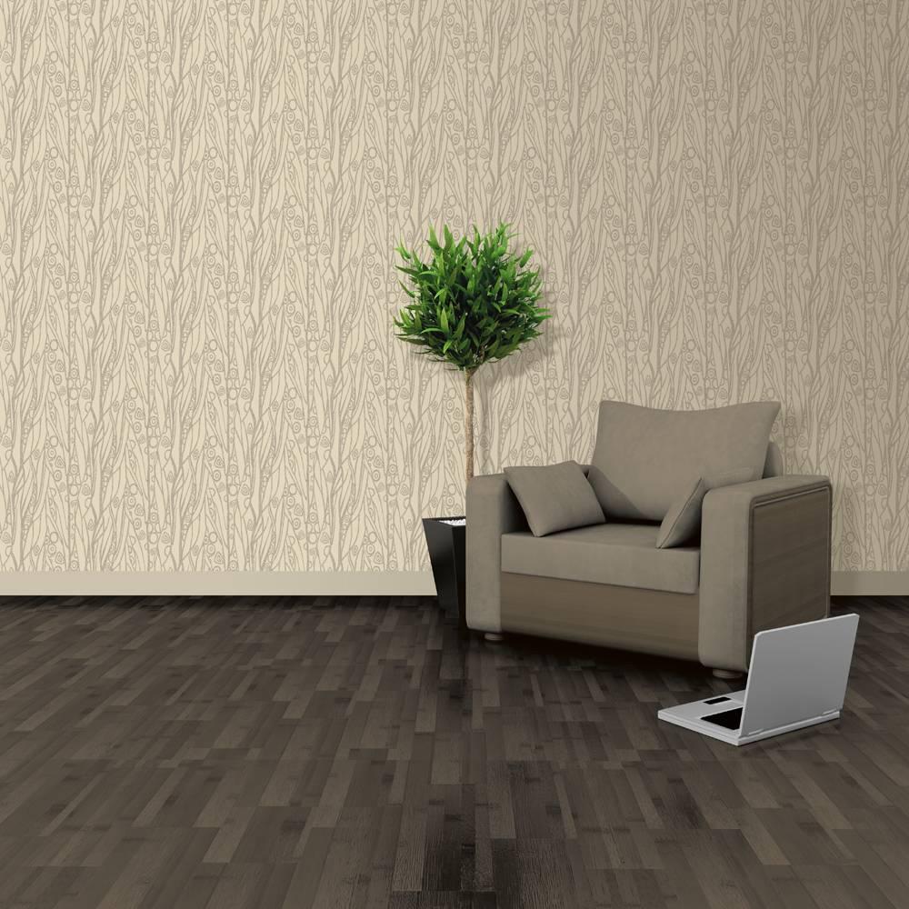 Soft & natural behang dessin beige j508 08   de behangwinkelier
