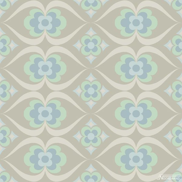Cozz Smile retro beige blauw mint