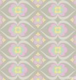 Noordwand Cozz Smile retro roze mint geel 61167-02