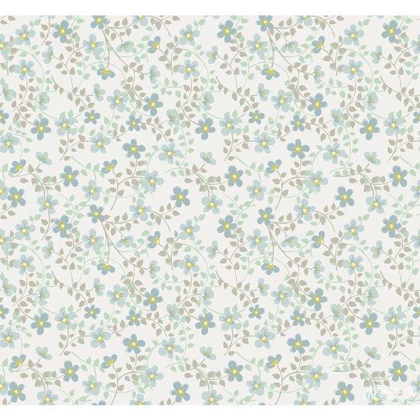 Cozz Smile bloemetjes blauw groen