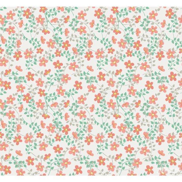 Cozz Smile bloemetjes oranje groen