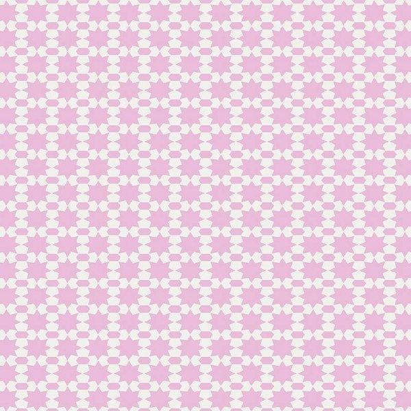 Noordwand Cozz Smile sterren roze 81165-04