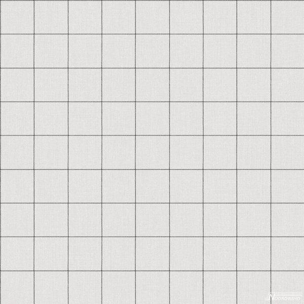 Noordwand Deauville blokken grijs linnen G23081