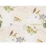 A.S. Creation Dekora Natur paper bird geel 95948-2