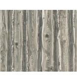 A.S. Creation Dekora Natur hout boomschors grijs 95837-2