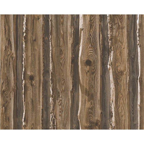 A.S. Creation Dekora Natur hout boomschors bruin