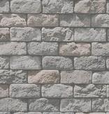 A.S. Creation Dekora Natur baksteen rood grijs 95834-1