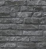 A.S. Creation Dekora Natur baksteen zwart 95470-1