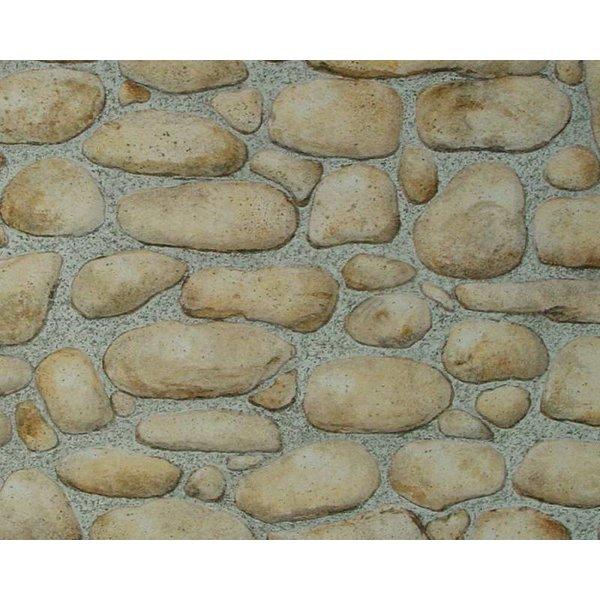 A.S. Creation Dekora Natur steen buiten bruin