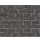 A.S. Creation Dekora Natur baksteen zwart 7798-47