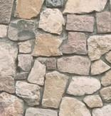 A.S. Creation Dekora Natur steen behang bruin 6925-12